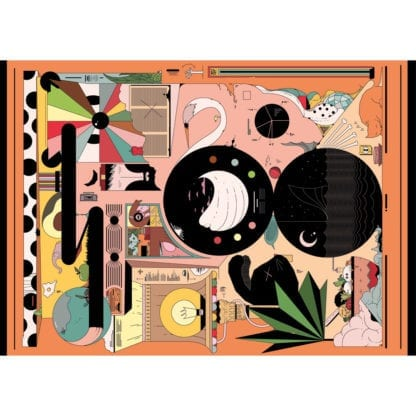 Doodle is a challenging jigsaw puzzle by Cloudberries with artwork from Ori Toor