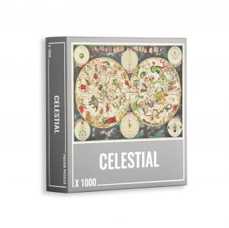 Celestial jigsaw puzzle for adults