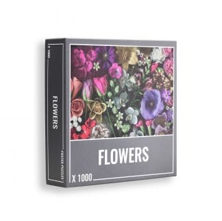 Flowers 1000 piece puzzle from Cloudberries
