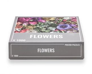 Flowers puzzle from Cloudberries