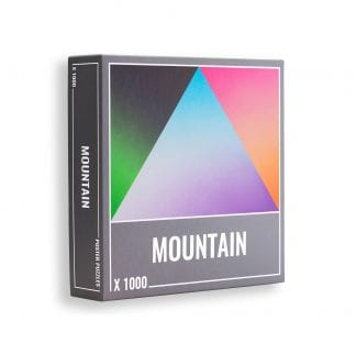 Mountain gradient puzzle from Cloudberries