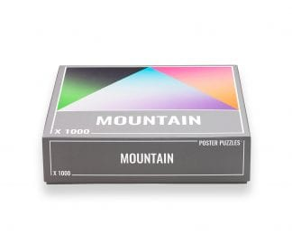 Mountain Gradient puzzle from Cloudberries (1000 pieces)
