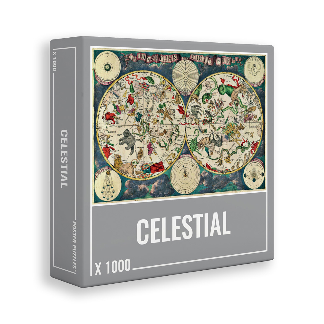 Map Of Uk Jigsaw.Celestial Jigsaw Puzzle 1000 Pieces