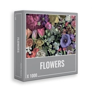 Flowers scanography jigsaw puzzle for grown ups