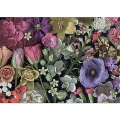 Flowers is a challenging 1000-piece jigsaw puzzle for grown ups!