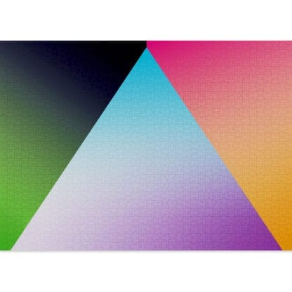 Mountain is a 1000-piece gradient puzzle for adults