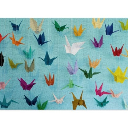1000-piece Origami puzzle by Cloudberries
