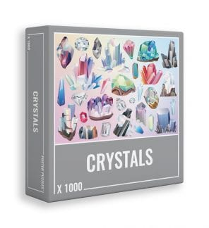 Crystals jigsaw puzzle for adults from Cloudberries