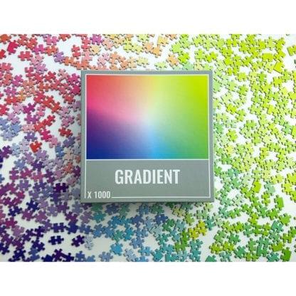Gradient 1000 piece colour spectrum puzzle