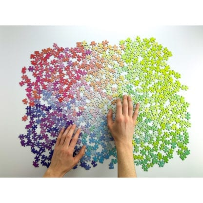 The 1000-piece gradient puzzle from Cloudberries