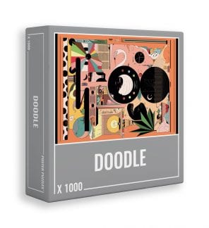 Doodle jigsaw puzzle by Cloudberries