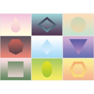 Geometry is a 1000-piece gradient puzzle from Cloudberries