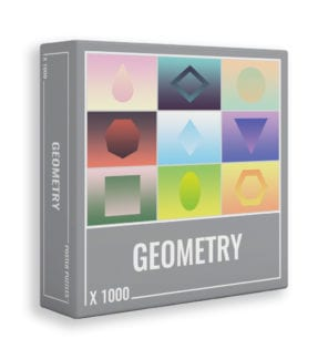 Geometry gradient jigsaw puzzle from Cloudberries