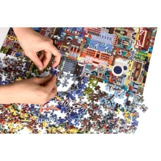 Challenging 1000-piece jigsaw puzzle for adults