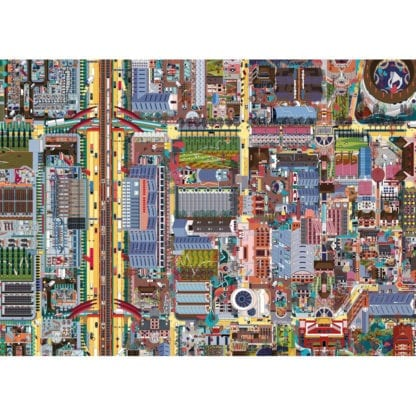 Crossroads is a 1000-piece jigsaw puzzle for adults