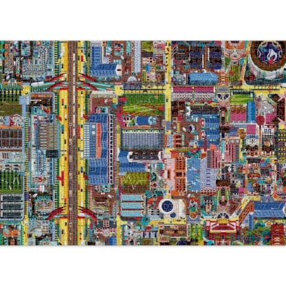 Crossroads 1000-piece jigsaw puzzle for grown ups