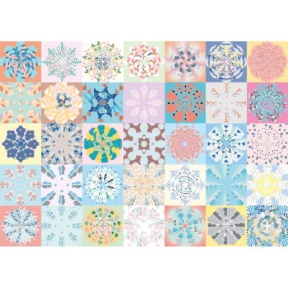 Patchwork 1000-piece jigsaw puzzle for adults