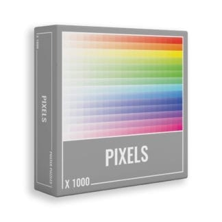 Pixels 1000-piece jigsaw puzzle from Cloudberries