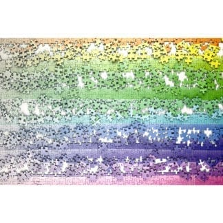 Pixels 1000 piece gradient puzzle for adults