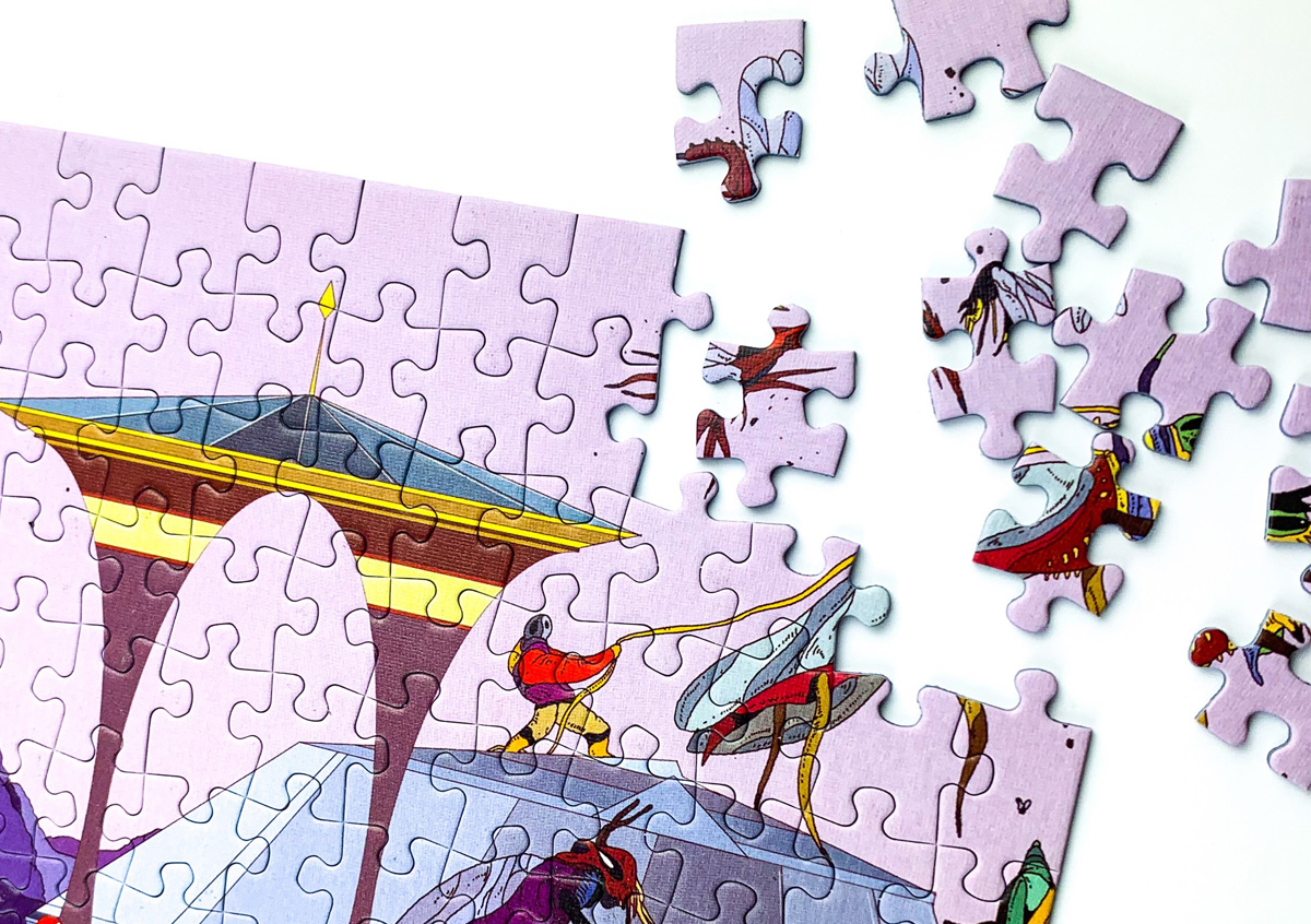Doing a puzzle can give you some valuable time away from your screen!