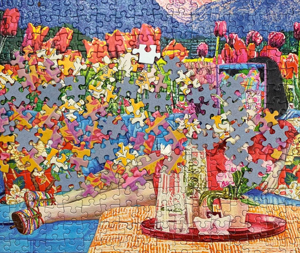 Some studies claim that jigsaw puzzles can actually help to prevent Alzheimer's
