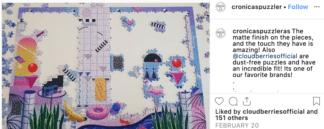 Poolside on Cronicas Puzzleras Instagram