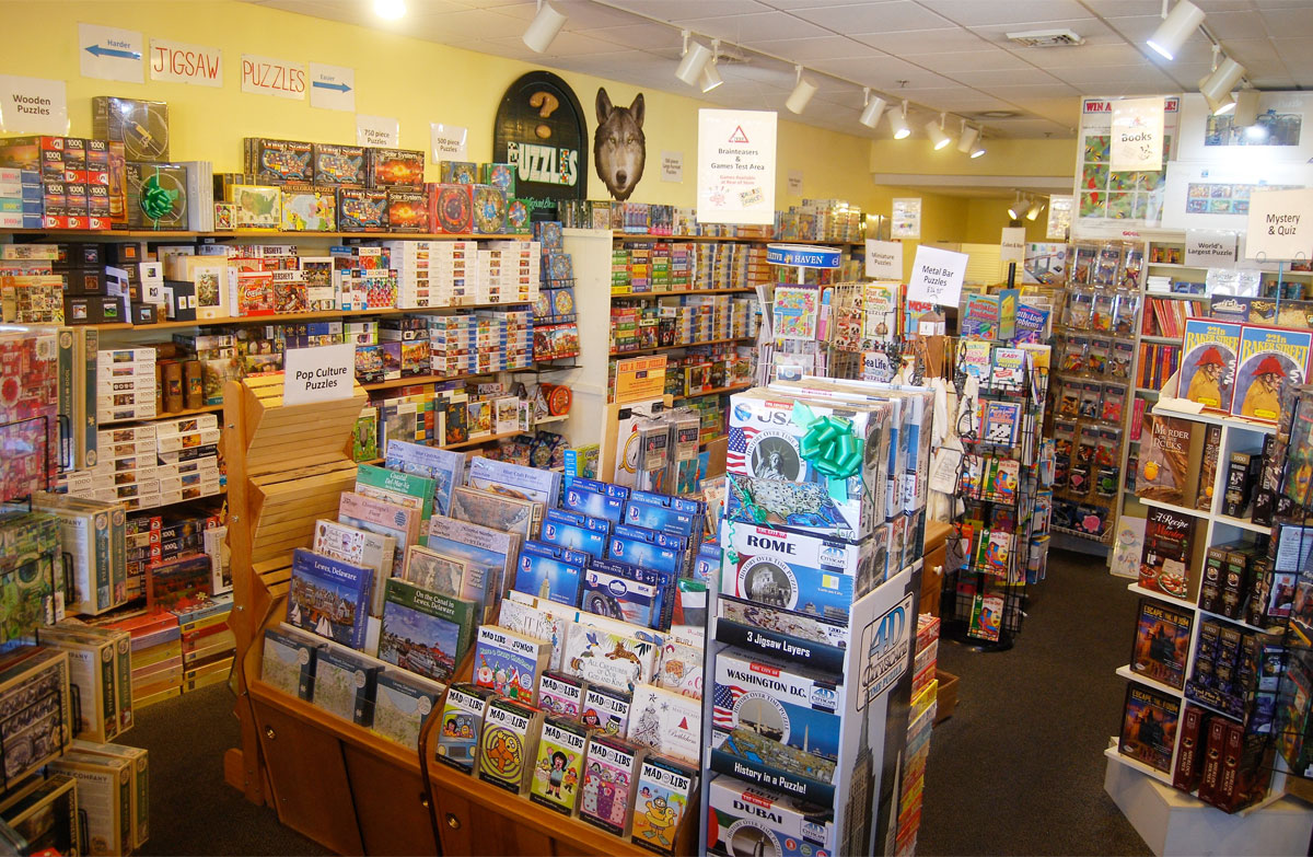 World's best jigsaw puzzle stores