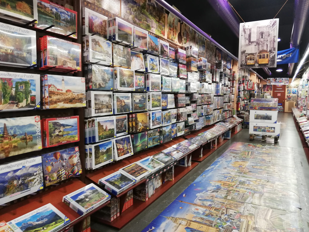Puzzlemania is one of the best jigsaw puzzle shops in Europe