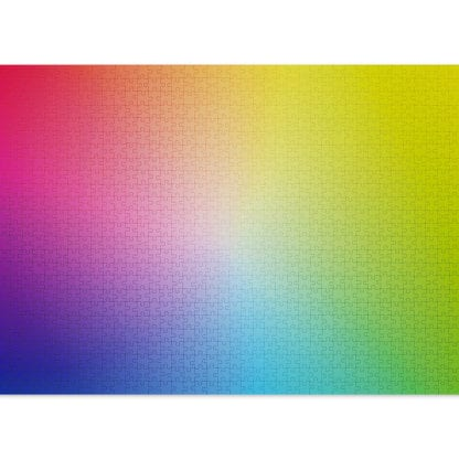 The 1000-piece colour puzzle from Cloudberries