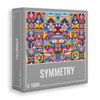 SYMMETRY is a fun, colourful 1000-piece puzzle by Cloudberries
