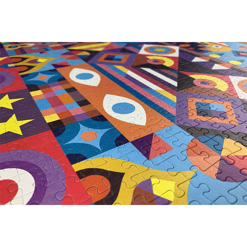 There are some amazing colours and patterns in our 1000-piece symmetry puzzle