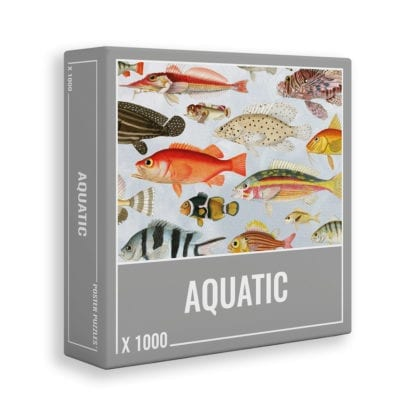 Aquatic is a 1000-piece puzzle from Cloudberries