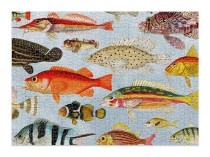 Aquatic is a beautiful, 1000-piece puzzle for adults