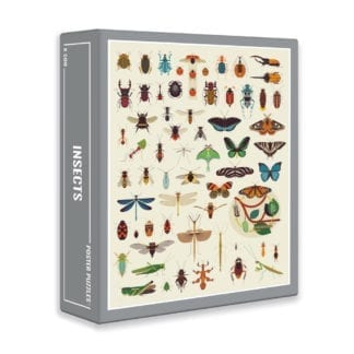 Insects is a fun 500-piece puzzle from Cloudberries designed for adults