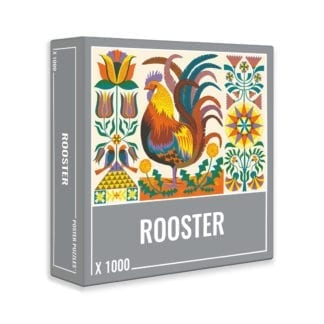 Rooster 1000 piece puzzle from Cloudberries