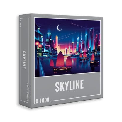 SKYLINE is a challenging 1000-piece puzzle designed especially for grown ups