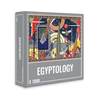 Egyptology is a colourful premium 1000-piece puzzle from Cloudberries