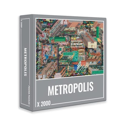 Metropolis is a 2000-piece jigsaw puzzle by Cloudberries