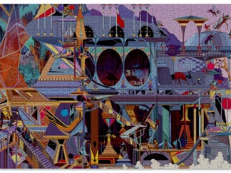 Outpost is a 1000-piece puzzle by Cloudberries