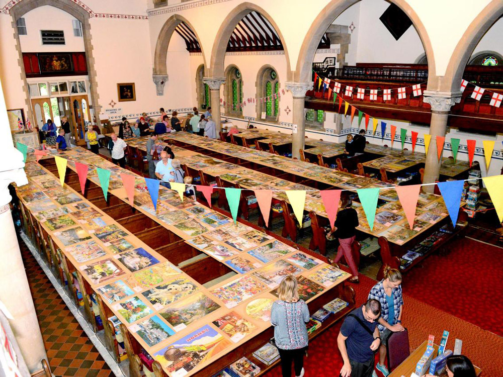 The Isle of Wight Jigsaw Festival has more than 300 puzzles on display!