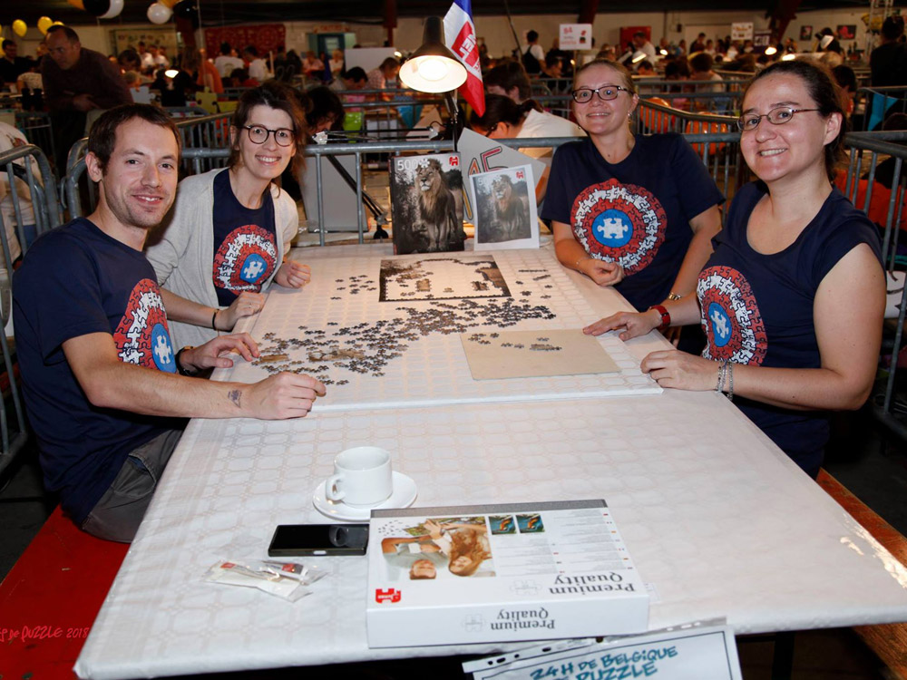 Belgium's 24 hour puzzling event gives puzzlers an intense challenge!