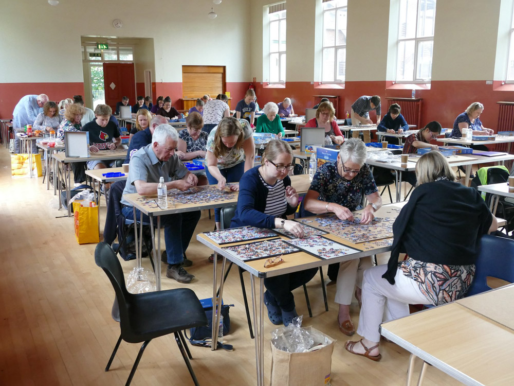 The Newmarket Jigsaw Festival features the British Jigsaw Championship.