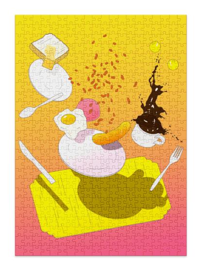 Breakfast full puzzle