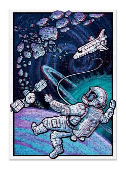 Space full puzzle