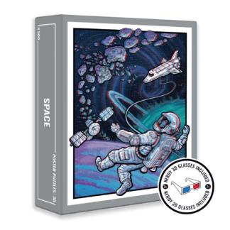 Space puzzle box