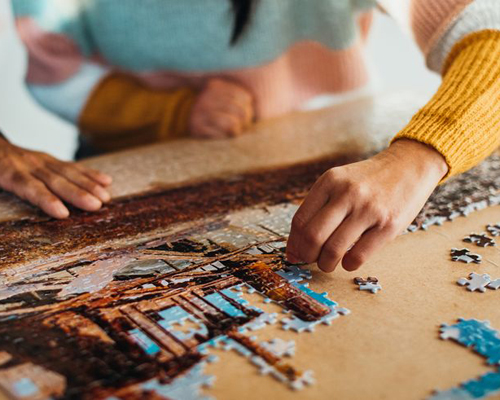 We were featured in this guide to the best puzzles for adults