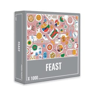 FEAST is a fun 1000-piece puzzle for foodies!