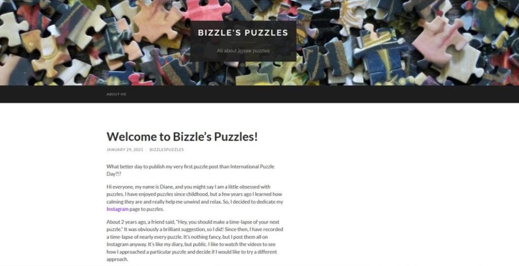 bizzle's puzzles website
